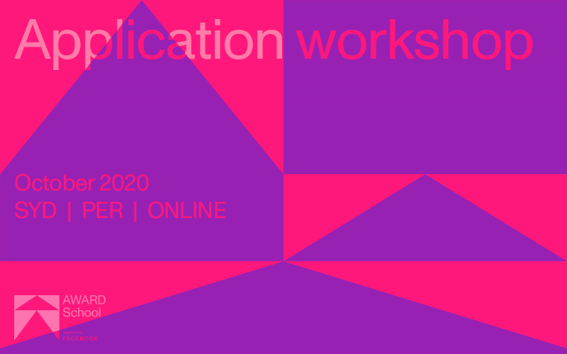 AWARD School 2021 Application Workshops – insider tips, tricks and ammo!
