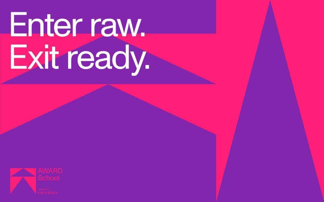 'Enter Raw, Exit Ready' AWARD School kicks off 2021 enrolment campaign