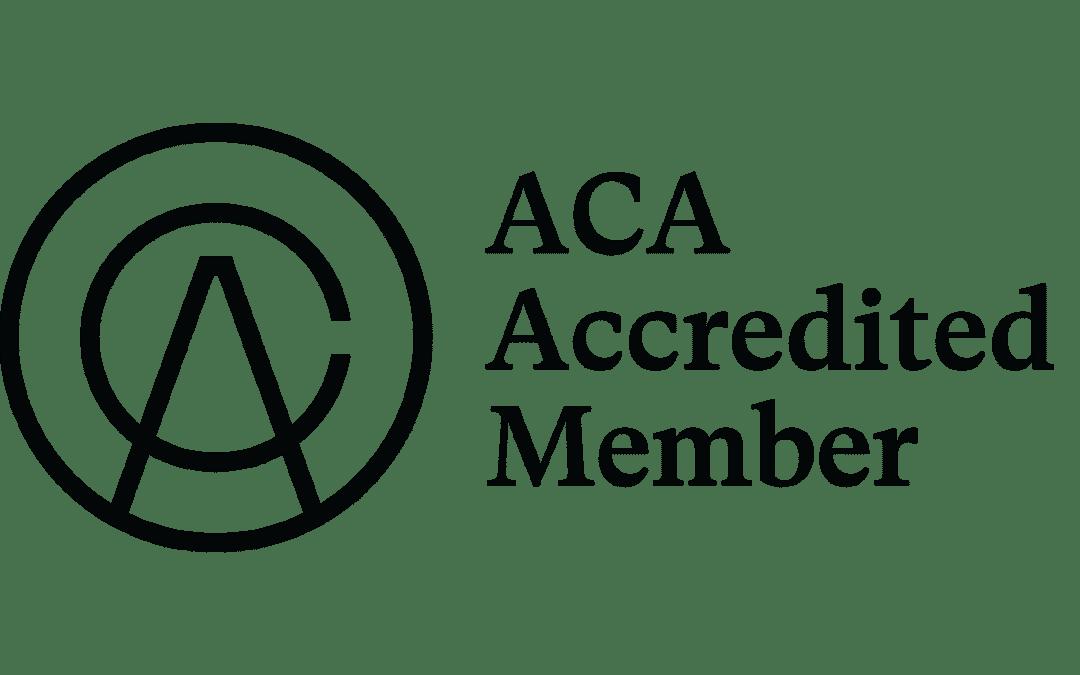 ACA's road to accreditation