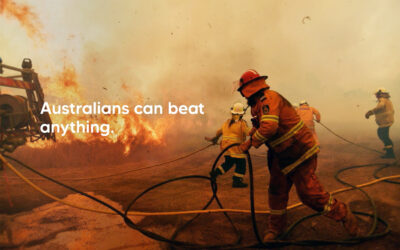 'Australians Can Beat Anything' ad campaign launches
